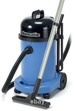 110v Numatic WV470 Blue Wet & Dry Commercial Vacuum Cleaner AA12 Kit 2021 Model