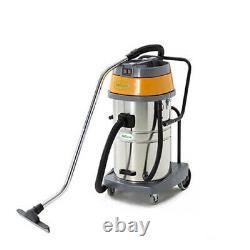 2000W 70L 2 Motor Wet Dry Industrial Vacuum Hoover