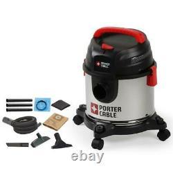 3 in 1 Wet Dry Blower Shop Vacuum vac 4 Gallon 4 Peak HP 960W Stainless Steel