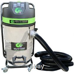 3600w Gutter Vacuum 40ft Lightest 1.2m Aerospace Aluminium Gutter Cleaning Poles