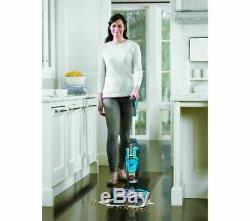 BISSELL CrossWave Upright Wet & Dry Vacuum Cleaner Titanium & Blue Currys