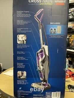 Bissell Crosswave Pet Pro All-in-One Corded Wet Dry Vacuum Cleaner 2306A New