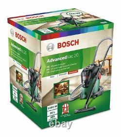 Bosch Advanced VAC20 All Purpose VACUUM CLEANER 06033D1270 3165140874014