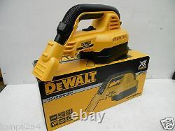 Brand New Dewalt Dcv517 Dcv517n Xr Li-ion 18v Wet & Dry Hepa Filter Vacuum