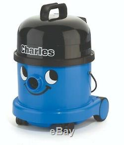 Charles Wet and Dry Cyclinder Bagged Vacuum Blue 1200W, 10m Cord CVC370-2