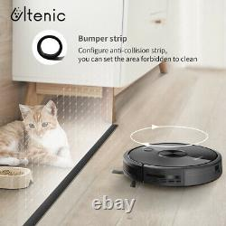 D5s Alexa Robotic Vacuum Cleaner Carpet Floor Dry Wet Mopping Auto Rechargable