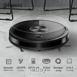 D5s Alexa Vacuum Cleaner Robot Carpet Floor Auto Wet Dry Mopping Magnetic Stripe