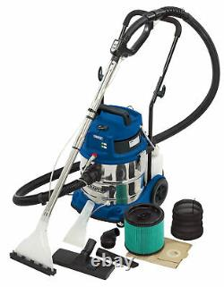 DRAPER 20L 3 in 1 Wet and Dry Shampoo/Vacuum Cleaner (1500W) 75442
