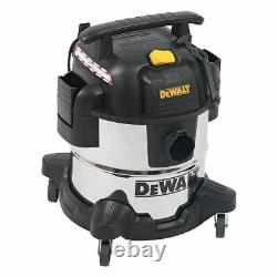 DeWALT DXV20S 20L 240V Wet & Dry Vacuum Cleaner