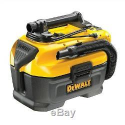 DeWalt DCV584L Flexvolt XR 14.4V 18v Wet Dry Cordless Corded Vacuum +4ah Battery