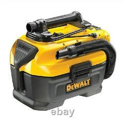 DeWalt DCV584L Flexvolt XR 14.4V 18v Wet Dry Cordless Corded Vacuum +6ah Battery