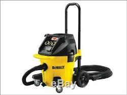 Dewalt DWV902M 240v Next Gen M Class Dust Extractor Vacuum Wet Dry + Floor Kit