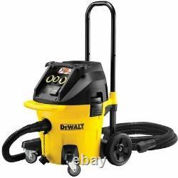 Dewalt DWV902M Next Generation M Class Dust Extractor Vacuum Wet & Dry Vac 240v