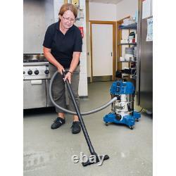 Draper 30L 1600W WET & DRY Vacuum Cleaner Integrated Power Socket 20529 VAX