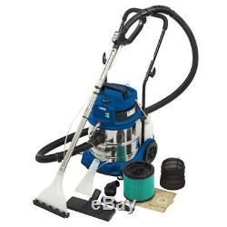 Draper 75442 20L 1500W 230V Wet & Dry Shampoo/Vacuum Cleaner Valeting Machine