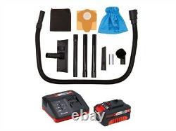 Einhell 2347131 TC-VC 18/20 Li Power-X-Change Cordless Wet & Dry Vacuum 18V 1 x