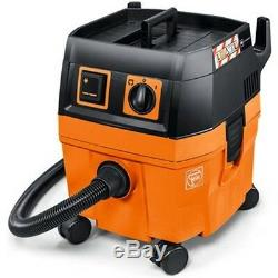FEIN Dustex 25L Wet & Dry Dust Extractor 230v Vacuum Cleaner M Class Filter