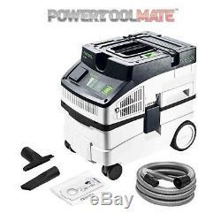 Festool CT 15 E 15L Wet & Dry Dust Extractor / Vacuum Cleaner (240v) 574830