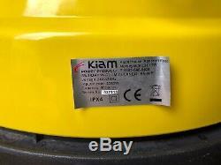 Genuine KIAM KV-80P 80Lt Industrial Triple Motor 3000W Wet Dry Vacuum Cleaner