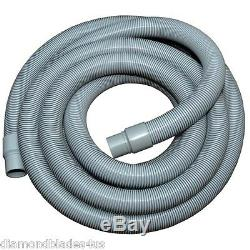 Heavy Duty Flexible Crush Proof Vacuum Hose with Cuffs Use Wet or Dry