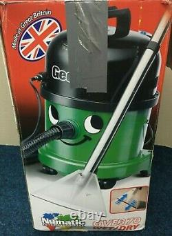 Henry George Wet and Dry Vacuum, 15 Litre, 1060 Watt, Green #243