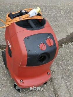 Hilti VC40 UM 110v Wet & Dry Vacuum Dust Extractor Vac hose M class hoover