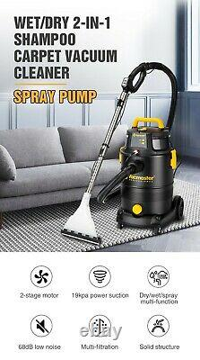 Household 30L 19000PA DRY/WET 2-IN-1 Shampoo Carpet Powerful Vacuum Cleaner