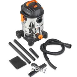 INDUSTRIAL Wet Dry Vacuum Cleaner Powerful Portable Hoover Commercial Steel 30L