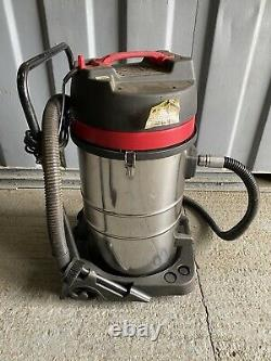 Industrial Vacuum Cleaner Wet & Dry Extra Powerful- 3 Switch Stainless Steel 80L