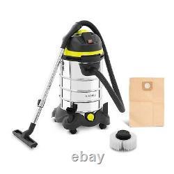 Industrial Vacuum Cleaner Wet & Dry Vacuum Shop Vac HEPA Filter 21kPa 1400W 30L