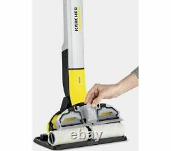 KARCHER FC 3 Cordless Hard Floor Cleaner Yellow Currys