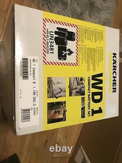 Karcher WD 1 18V Cordless Compact Wet & Dry Vacuum 1 x 2.5Ah