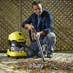 Kärcher WD4 Premium Wet and Dry Vacuum- HEAVY DUTY BETTER THEN HENRY HOOVER