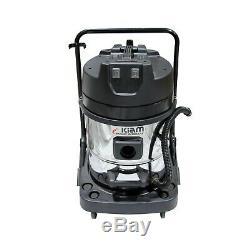 Kiam Gutter Cleaning KV60 Wet & Dry Vacuum Cleaner & 40ft 12m Pole Kit System