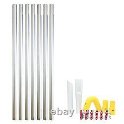 Kiam Gutter Cleaning System KV100 Wet & Dry Vacuum Cleaner & 28ft 8.4m Pole Kit