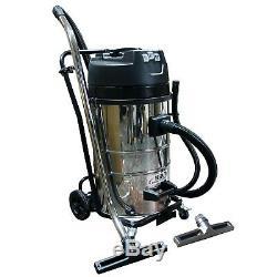 Kiam Gutter Cleaning System KV80 Industrial Wet & Dry Vacuum Cleaner & Pole Kit