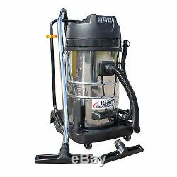 Kiam KV80-3 80 Litre Industrial Triple Motor 3600W Wet & Dry Vacuum Cleaner