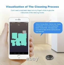 LIECTROUX C30B Robot Vacuum Cleaner Map Navigation, WiFi App, 4000Pa Suction, Smart