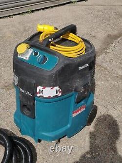 Makita 447M 110v Wet & Dry Vacuum Dust Extractor Vac hose M class hoover Vat Inc
