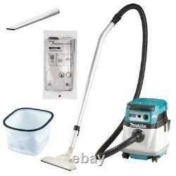 Makita Cordless Vacuum Cleaners 2 X 18V Wet/Dry Class L DVC152LZ