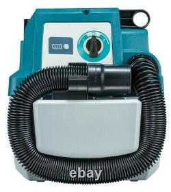 Makita DVC750LZ 18V Brushless Wet & Dry Vacuum Cleaner LXT L-Class Low Noise