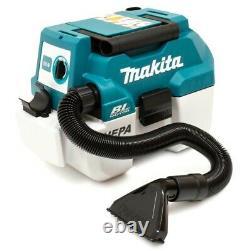 Makita DVC750LZ 18V LXT BL L Class Vacuum Cleaner Bare Unit Wet And Dry Li-ion