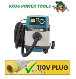Makita VC1310L 110v 13L Vacuum Cleaner Wet and Dry Dust Extractor L CLASS