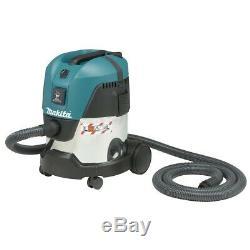 Makita VC2012L 20L Wet/Dry Vacuum, 1,000W, L class, Dust Extractor