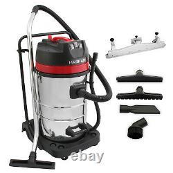 MaxBlast 80L Industrial Vacuum Cleaner & Floor Track Nozzle Wet Dry Commercial C