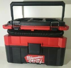 Milwaukee 0970-20 M18 FUEL PACKOUT 2.5 Gallon Wet/Dry Vacuum GR M