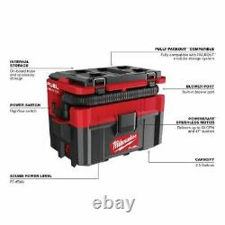 Milwaukee 0970-20 M18 FUEL PACKOUT 2.7 Wet/Dry Vacuum (Tool Only)