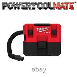Milwaukee M12FVCL-0 1.6 Gallon Wet & Dry Vacuum