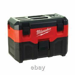 Milwaukee M18 VC2-0 18V Cordless Wet/Dry Vacuum (Body Only)