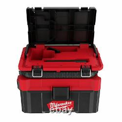 Milwaukee M18FPOVCL-0 Packout 2.5 Gallon Wet/Dry Vacuum